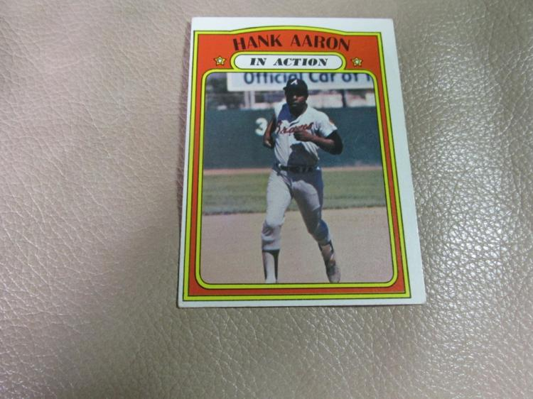 Hank Aaron card #300