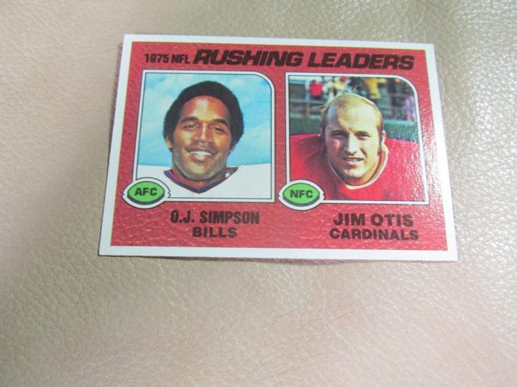 NFL rushing leaders card #203