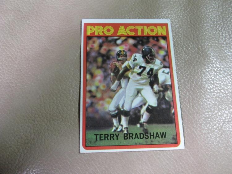 Terry Bradshaw Pro Action card #120