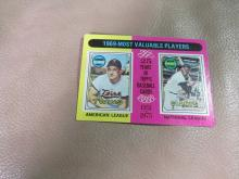 Most Valuable Players card #207