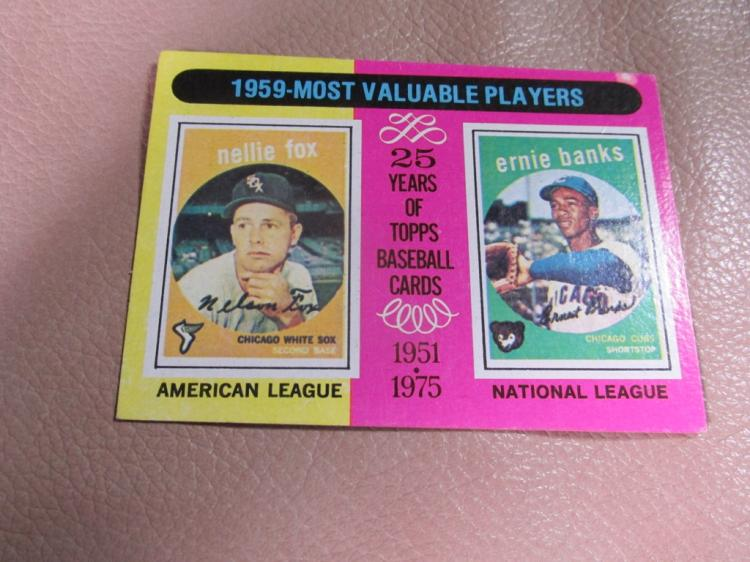 Most Valuable Players card # 197
