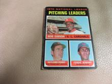 Pitching leaders card #70