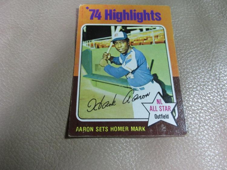 Hank Aaron card #1