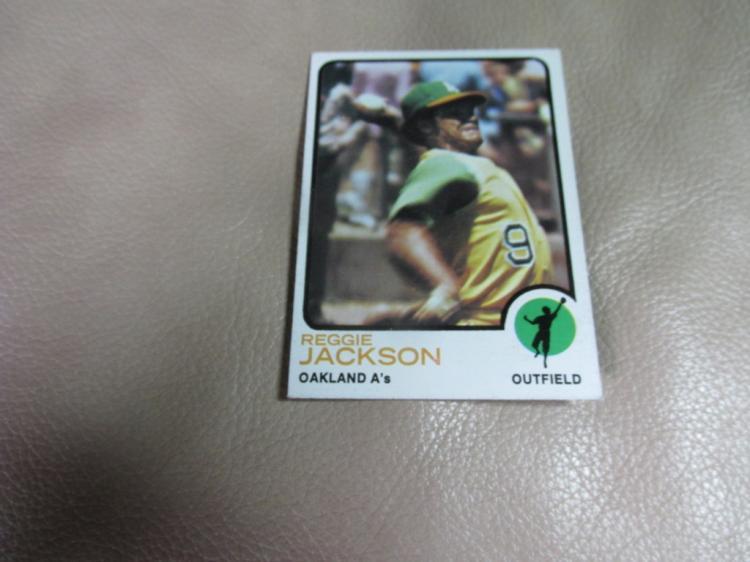 Reggie Jackson card #255