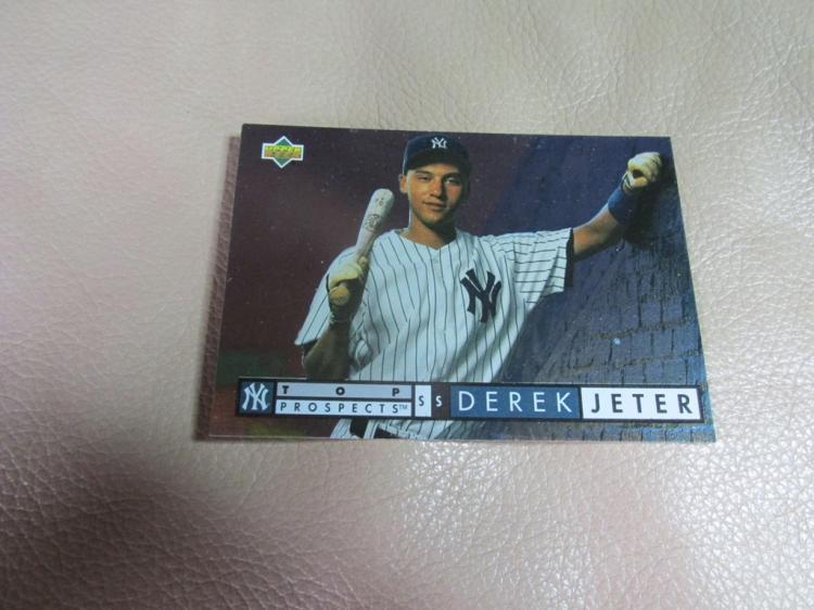 Derek Jeter  rookie card #550