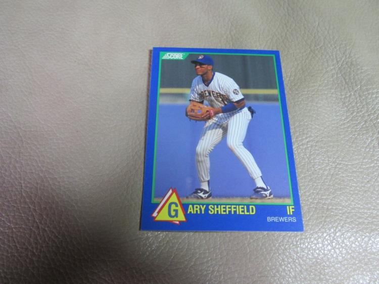 Gary Sheffield rookie card #10