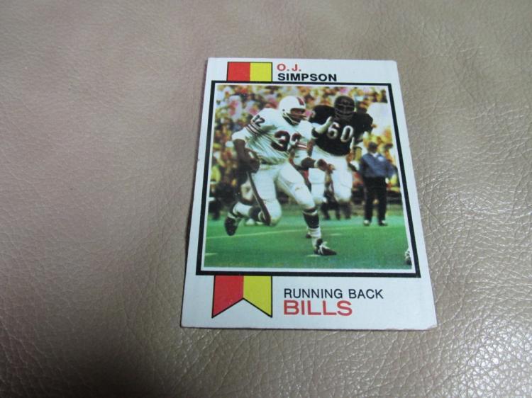 OJ Simpson card #500