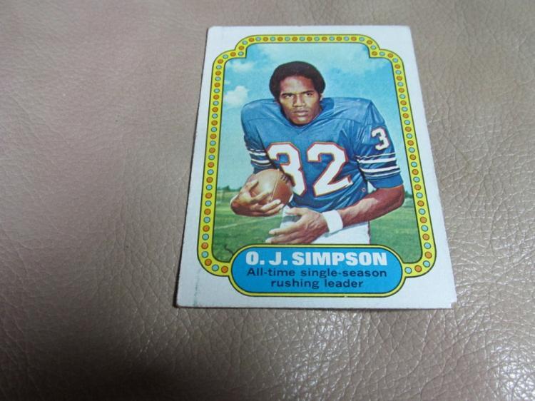 OJ Simpson card #1