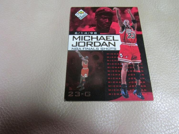 Michael Jordan card #10