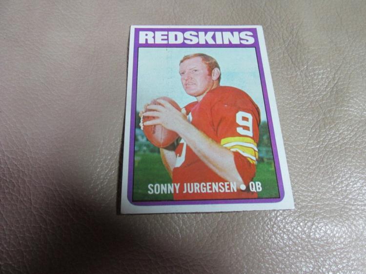 Sonny Jurgensen card #195