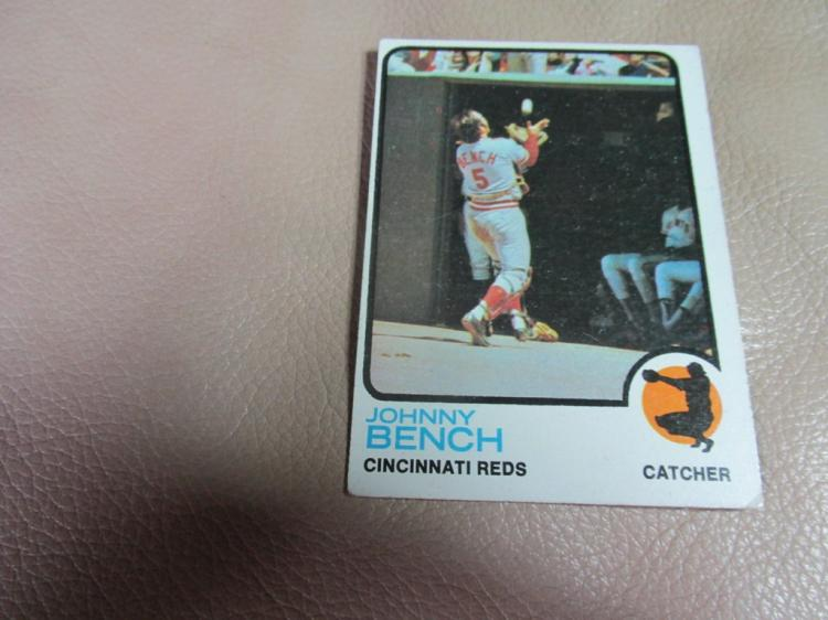 Johnny Bench card #380