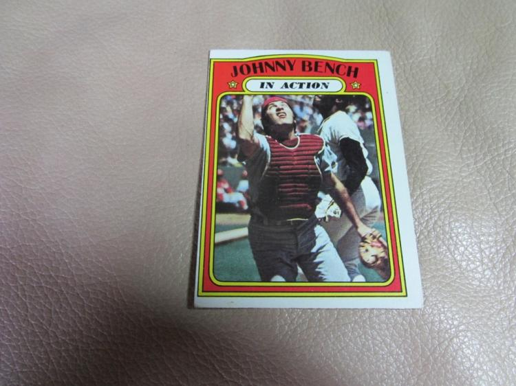 Johnny Bench card #434