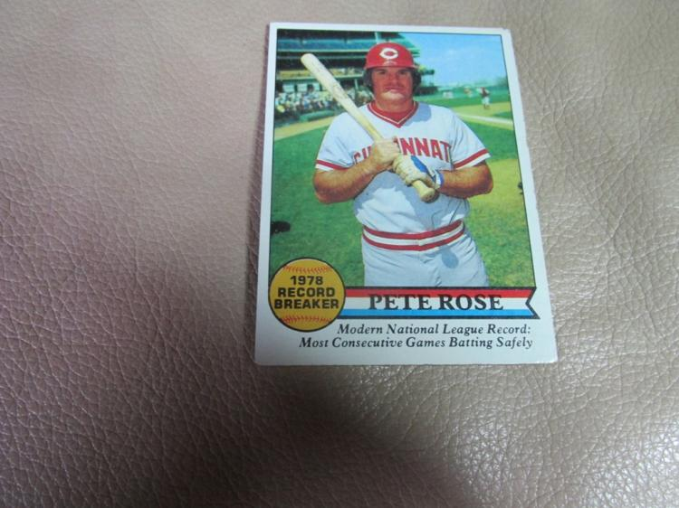 Pete Rose card #204