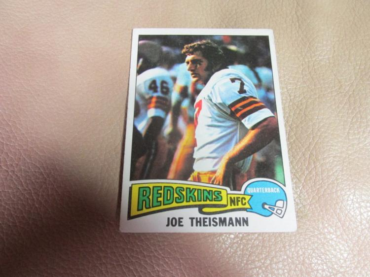 Joe Theismann card #416