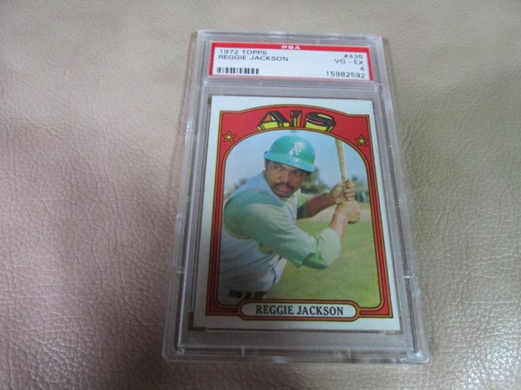 Reggie Jackson card # 435