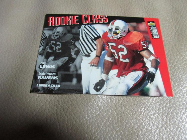 Ray Lewis rookie card #20