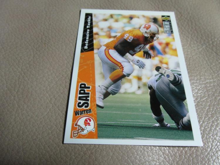 Warren Sapp rookie card #226