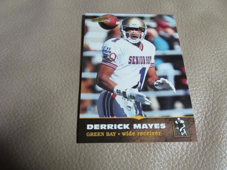 Derek Mayes rookie card #134