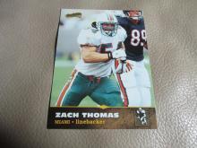 Zach Thomas rookie card #136