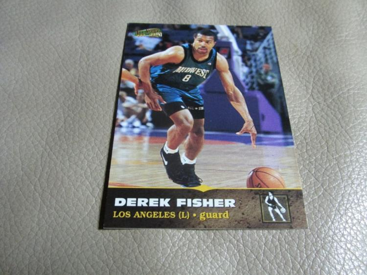 Derek Fisher rookie card #117