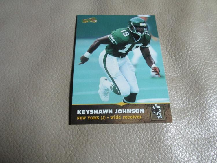 Keyshawn Johnson rookie card #130