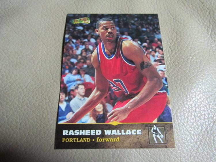 Rasheed Wallace rookie card #103