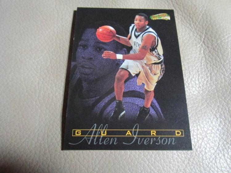 Allen Iverson rookie card #179