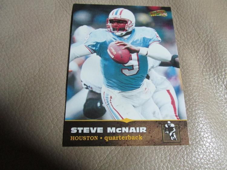 Steve McNair card #128