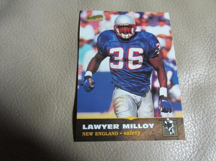 Lawyer Milloy rookie card #157