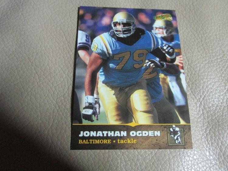 Jonathan Ogden rookie card #135