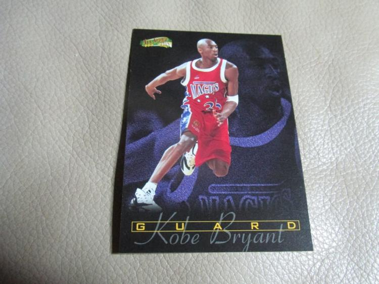 Kobe Bryant rookie card #185