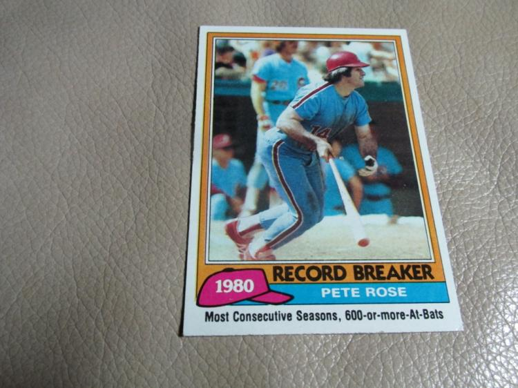 Pete Rose card #205