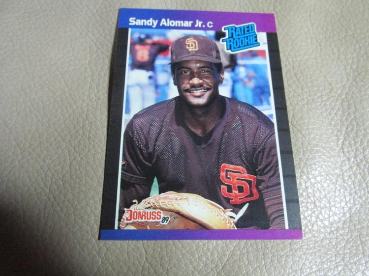 Sandy Alomar card #28