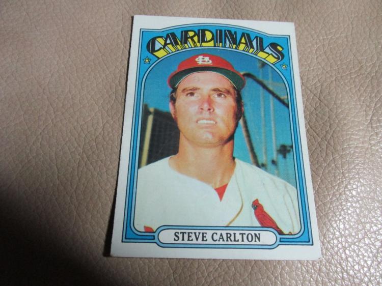 Steve Carlton card
