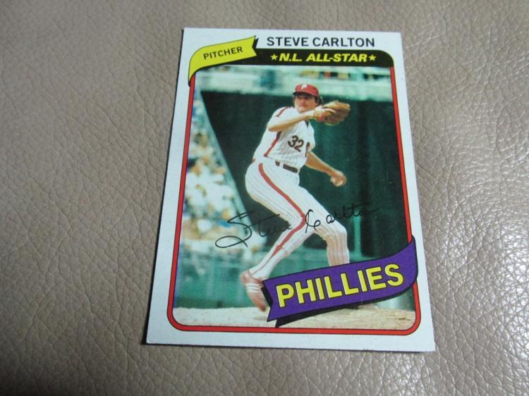 Steve Carlton card #210