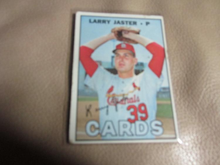 Larry Jaster card #356