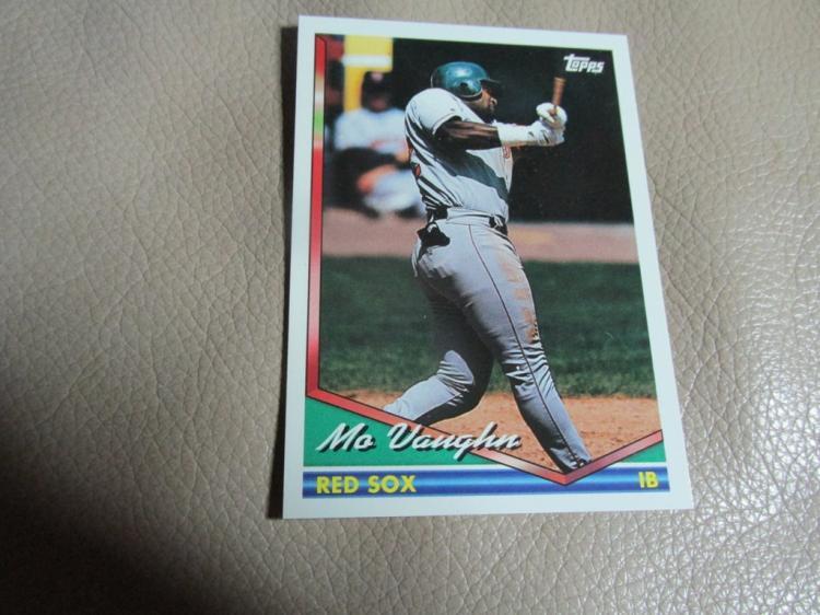 Mo Vaughn rookie card #690