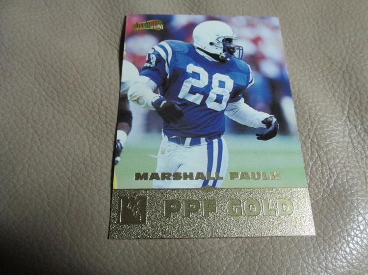 Marshall Faulk card #129