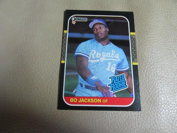 Bo Jackson rookie card #35