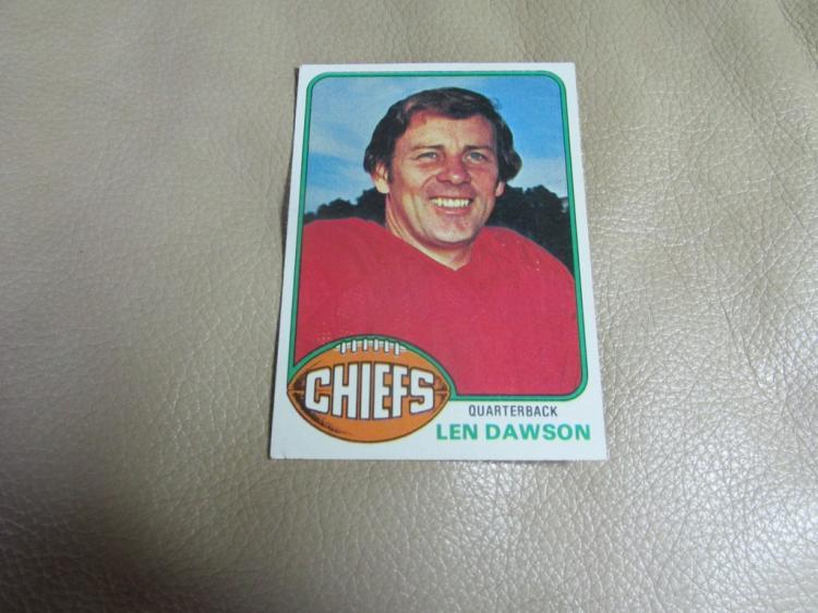 Len Dawson card #308
