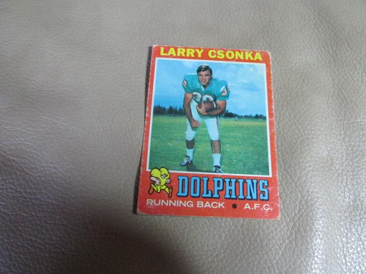 Larry Czonka card #45