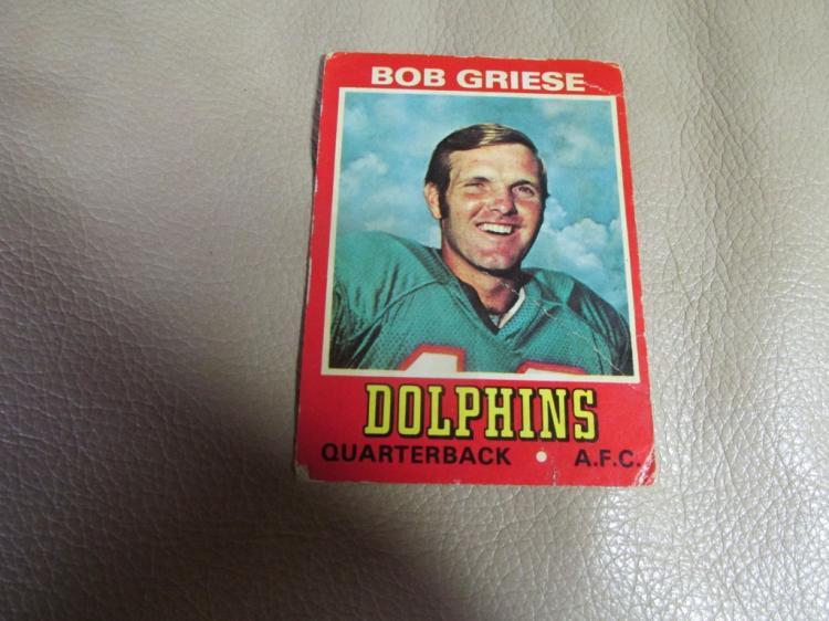 Bob Griese card #8