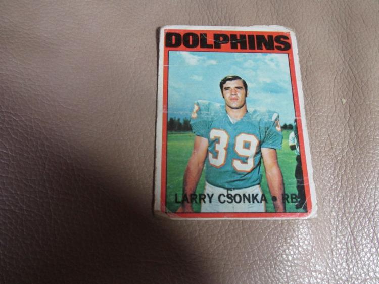 Larry Czonka card #140