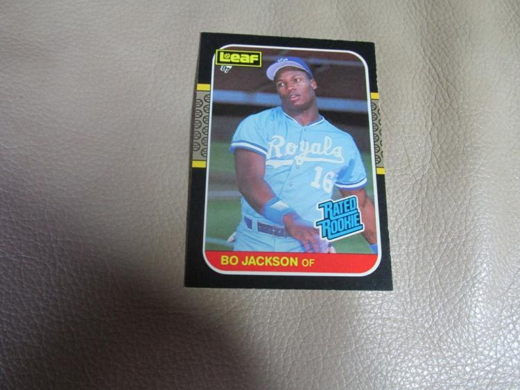 Bo Jackson rookie card #35