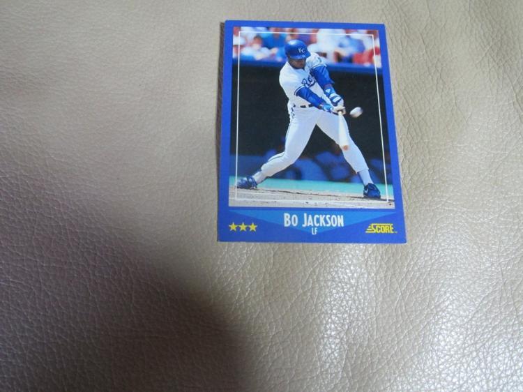 Bo Jackson card #180