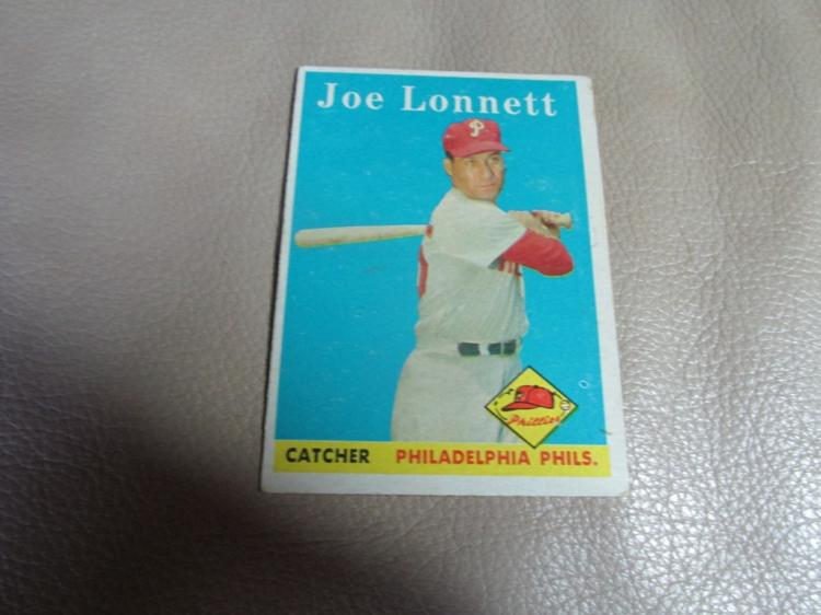 Joe Lonnett card #64