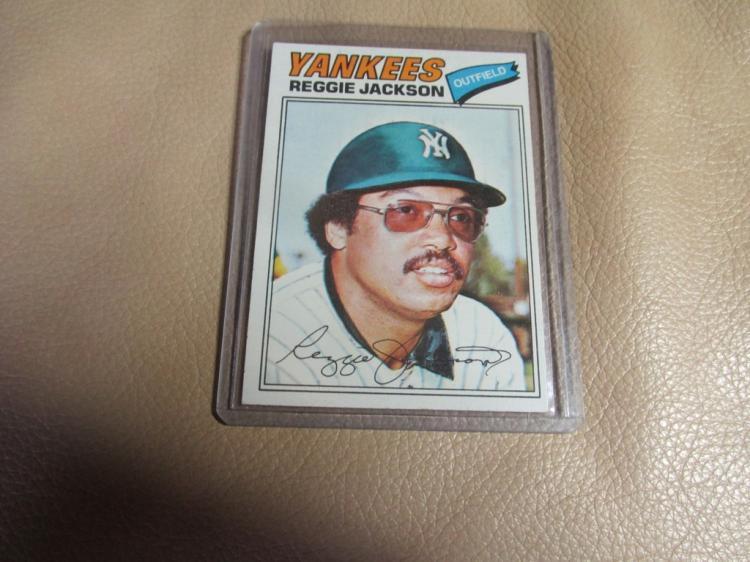 Reggie Jackson card #10