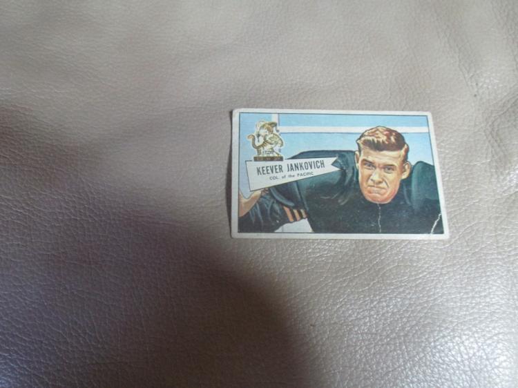 Keever Jankovich card #38