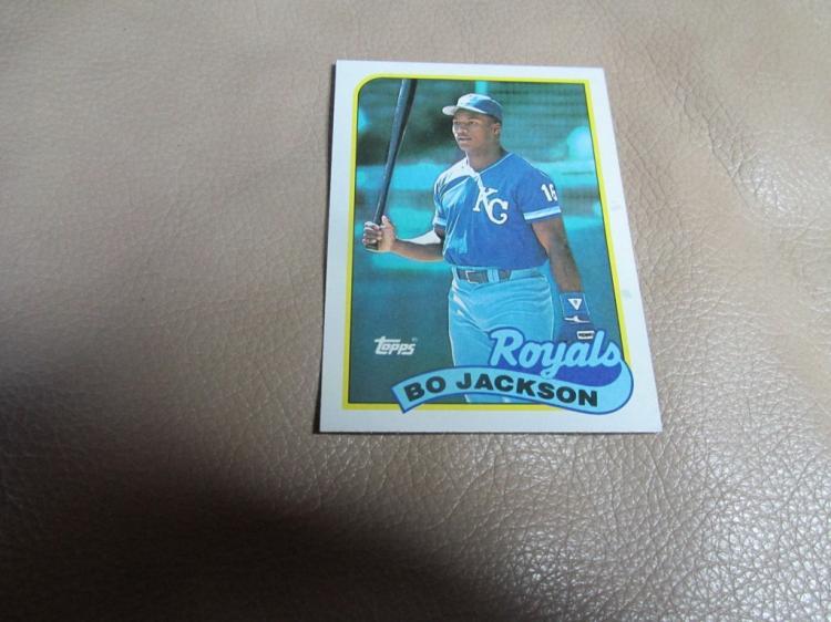 Bo Jackson card #540