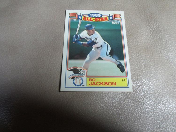 Bo Jackson card #17